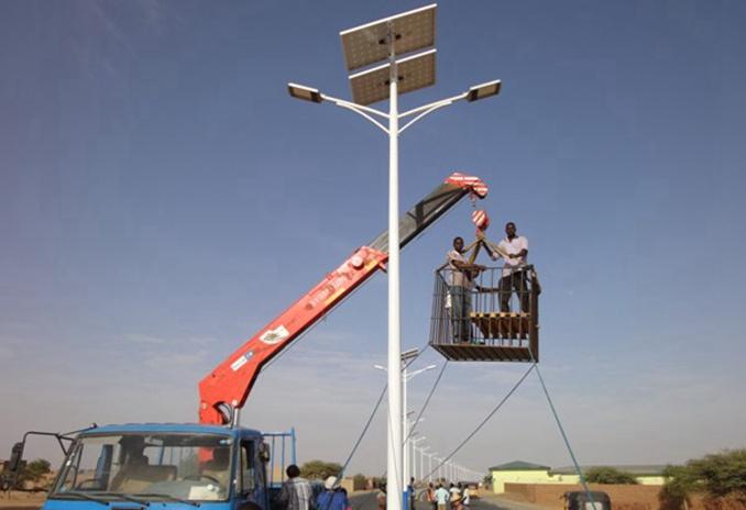 河南太阳能路灯感动世界