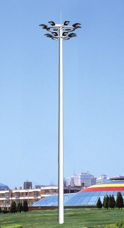 山西高杆灯,广场灯,高度25米